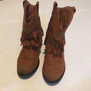 Toddler Girls' Western Boots Genuine Kids Size 9
